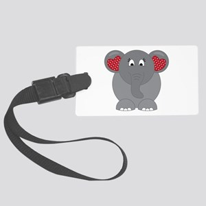Elephant Love Luggage Tag